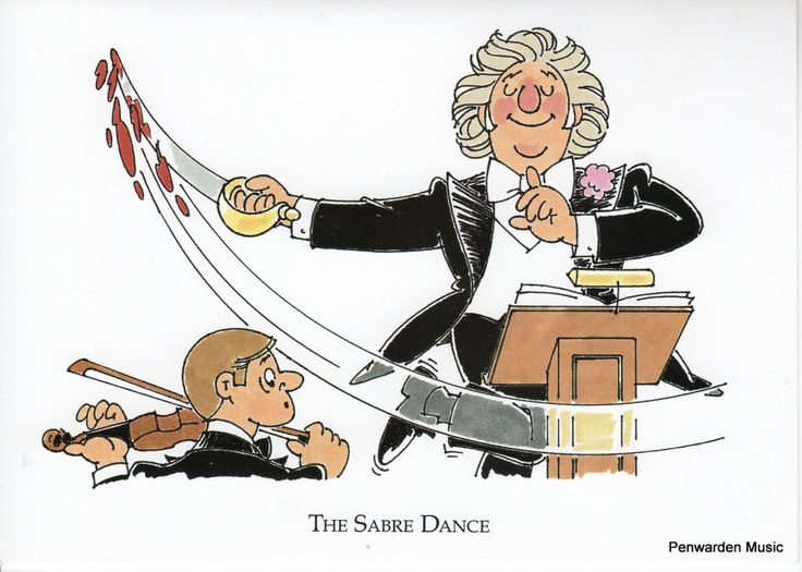 Joan Butler Classics Greeting Card - Sabre Dance