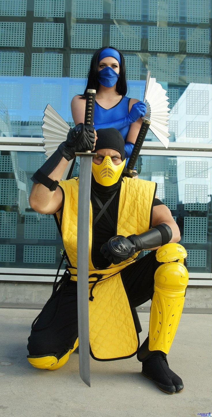 image Mortal kombat kitana cosplay dildo fuck