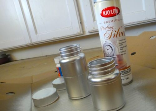 empty medicine bottle crafts | legally crafty