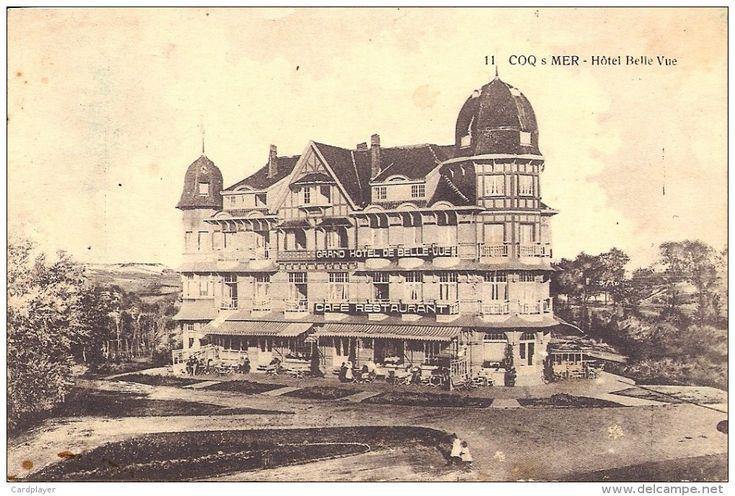 DE HAAN - Le Coq-sur-Mer - Hotel Belle Vue - Met Animatie / Avec Animation - Edit. Saya - 1925 - Minder Voorkomende - De Haan
