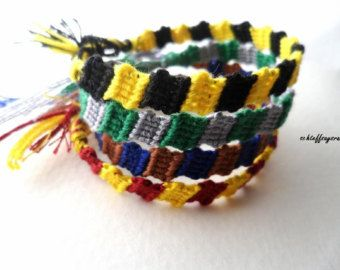 Harry Potter Haus Freundschaft Armbänder (Block Armband)