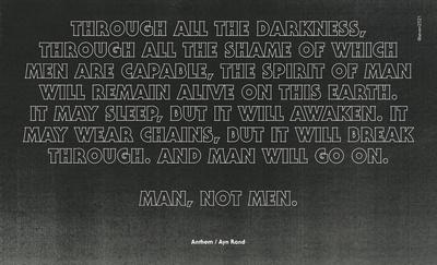 Anthem (Himno), Ayn Rand