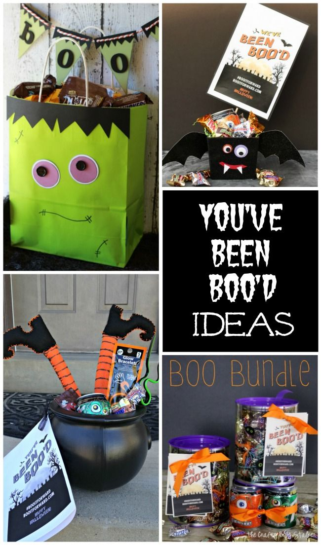 You've Been Boo'd Ideas for Halloween Fun!