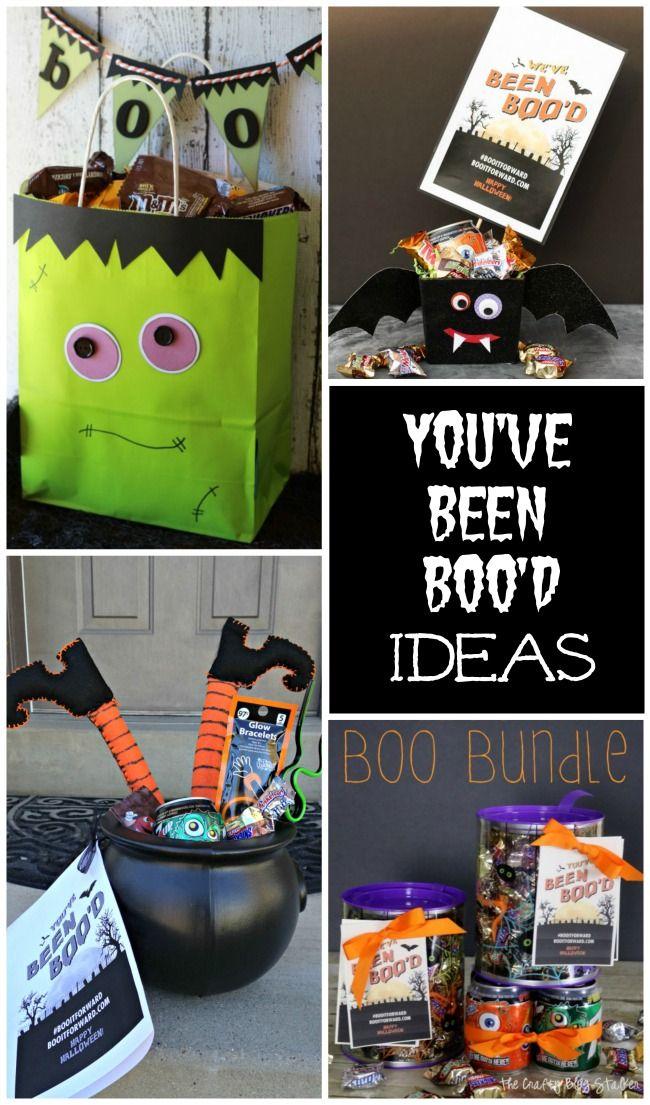 You've Been Boo'd Ideas for Halloween Fun!