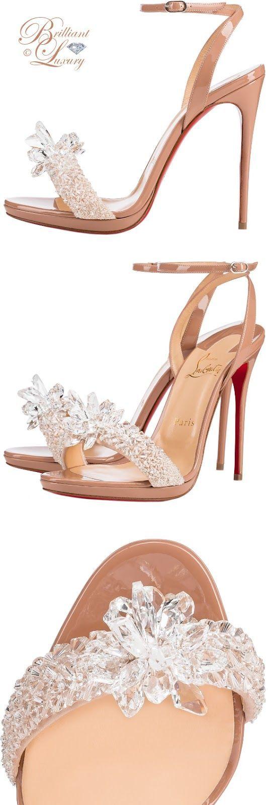 Brilliant Luxury by Emmy DE ♦ Christian Louboutin 'Crystal Queen'