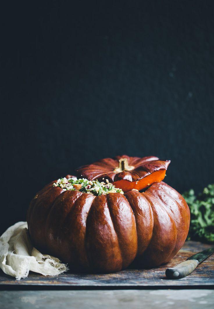 Stuffed pumpkin.