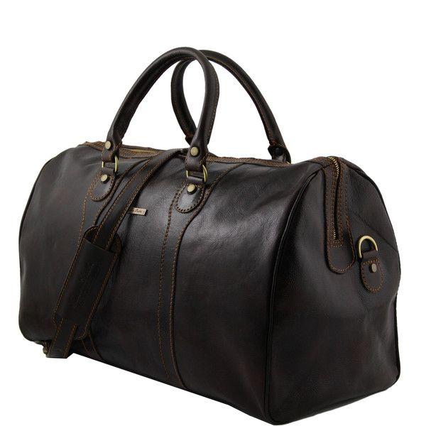 Oslo - Travel leather duffle bag - Weekender bag