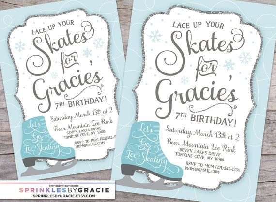 """I T E M - D E S C R I P T I O N This listing is for a fully customized 5x7"""" SprinklesByGracie design on high quality coated card stock, far superior than photo paper from your local pharmacy. Shipping is free* and white envelopes are included!  D I G I T A L - F I L E Choose digital file only if youd like to print the invites yourself. Printable invitations give you the freedom of printing as many as you like from your home computer or from a professional printer (JPEG & PDF) Use the PDF for…"""