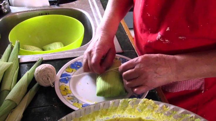 Como hacer Humitas