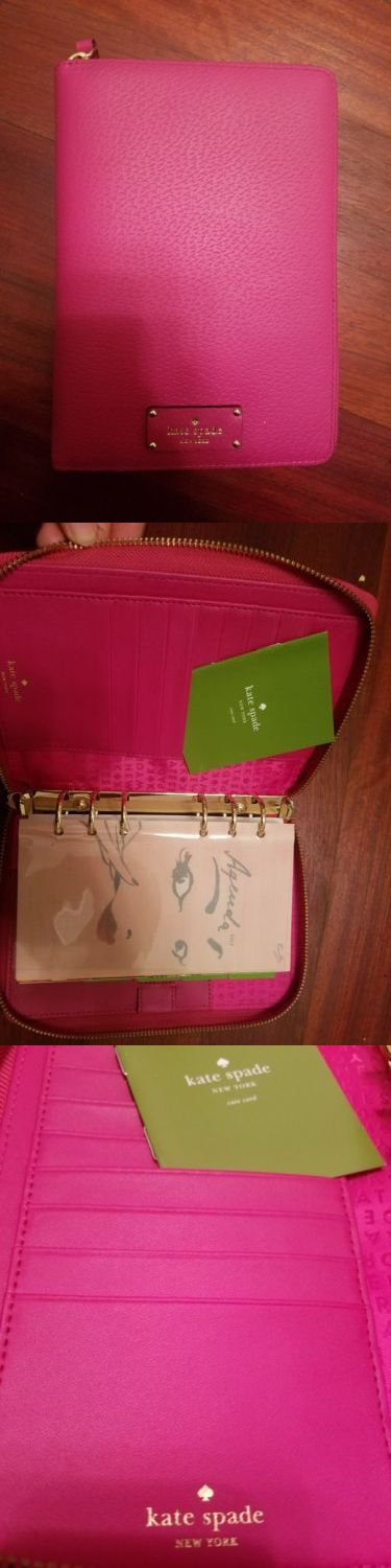 Organizers and Day Planners 15735: Kate Spade 2016 - 2017 Wellesley Planner Agenda -> BUY IT NOW ONLY: $60 on eBay!
