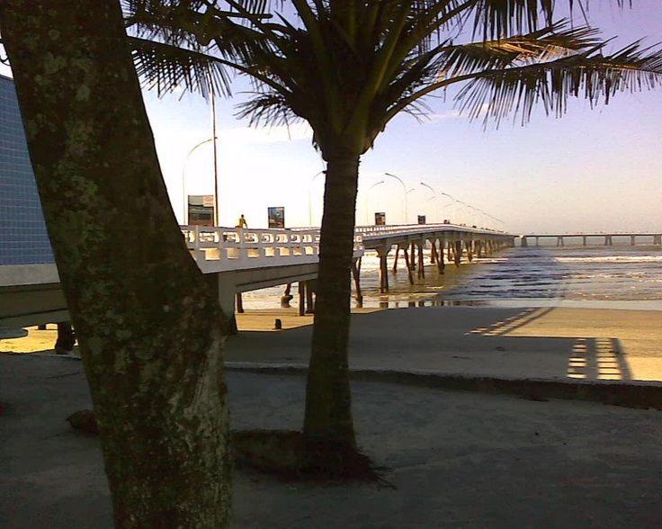 Mongaguá beach