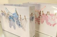 Baby Shower Gift Bags - Super Floral Distributors - Decor, Floral accessories and Crafters accessories in Cape Town