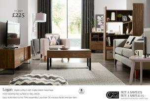 Buy Logan Extending Shelf from the Next UK online shop