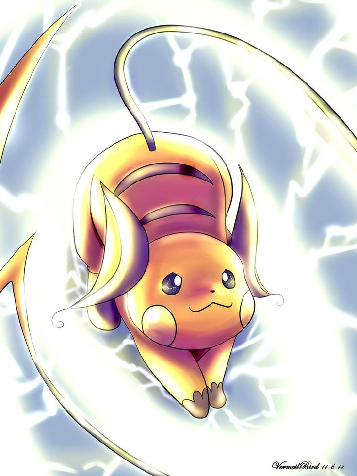 Raichu - Forma de Kanto (With images) | Pokemon eevee ... Pichu Pikachu Raichu Rap