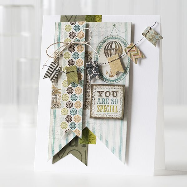 Color Coordinates Olive card by Shari Carroll for Simon Says Stamp June 2014