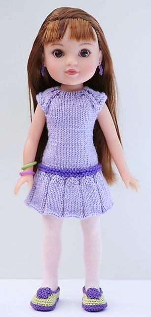 Ravelry: cataddict's Easter dress freebie knit pattern