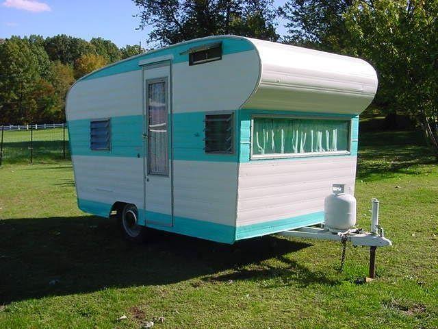 1963 Scamper - 13 feet - AMERICAN Trailers - Vintage RV Travel Trailers, TEARDROP's, MOTOR HOMES & Woodies