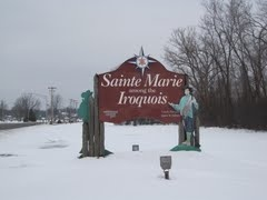 Sainte Marie Among the Iroquois, a modern replica of the 17th century French Jesuit mission, located in Liverpool, NY across from Onondaga Lake Park.