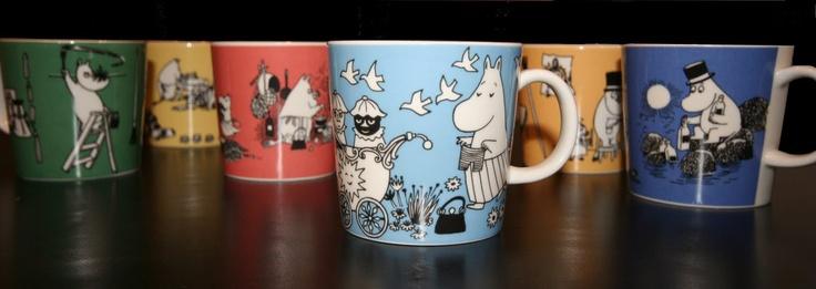 pientä mutta suurta: Moomin mugs from the 90s