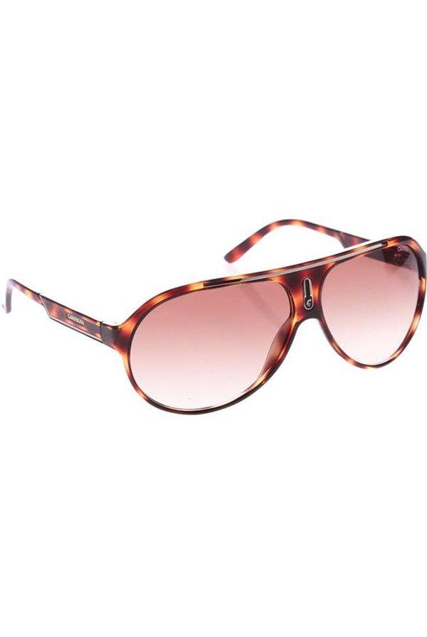 Ochelari de soare, maro #GiorgioArmani #Carrera #sunglasses #chic #women #look #fashion