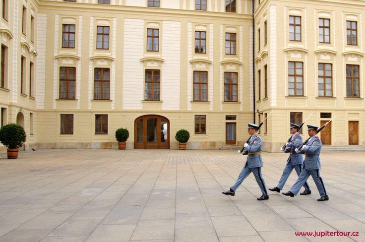Пражский Град, дворцовая страж
