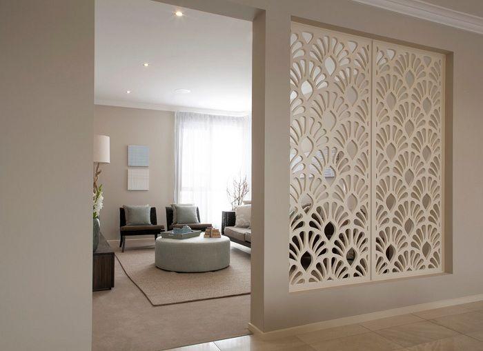 Лучшее решение декорировать комнату с помощью перегородки, которая оптимизирует пространство дома.