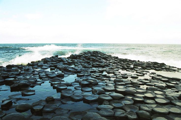 Nestled next to the Atlantic Ocean, the Giant's Causeway in Ireland is easily one of the most incredible, bizarre natural wonders in the world. Description from all-that-is-interesting.com. I searched for this on bing.com/images