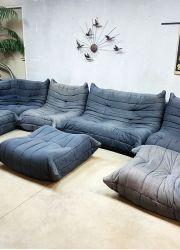 Togo Ligne Roset vintage design lounge bank sofa xxl Michel Ducaroy www.bestwelhip.nl