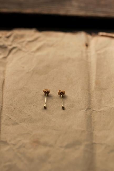 K18 Gold Drop Earrings - IRRE