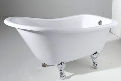 Les 25 meilleures id es concernant baignoire sur pattes for Salle de bain baignoire pied de lion