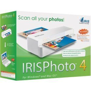 I.R.I.S IRISPhoto 457085 by Iris. Save 21 Off!. $91.94. Shipping Depth: 9.9 Shipping Height: 3.3 Shipping Width: 7.6 Master Pack Qty: 8 General Information Manufacturer: IRIS, Inc Manufacturer Part Number: 457085 Brand Name: I.R.I.S Product Line: IRISPhoto Product Model: 457085 Product Name: IRISPhoto 4 457085 Sheetfed Scanner Marketing Information: The easy way to organize and share your photos. Who does not have boxes of photos you'd love to scan, organize and share with frie...
