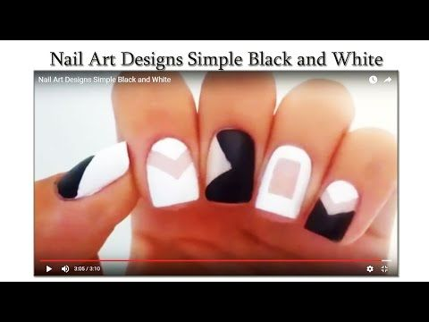 Nail Art Designs Simple Black and White   Makeup Tutorial Channel... See More Here : http://goo.gl/jDA1dc  Hope Your Enjoy! ..... Like, Share, Comment & Subscribe Us!  More Makeup Tutorial Channel videos ... Click Here: https://www.youtube.com/channel/UC3SbRN6zFEgCdnKHZj28B4w #nailart #nailarttutorial #nailarttutorialvideo