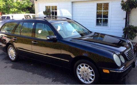 2000 Mercedes E320 wagon - $ 4380 (Santa Barbara )