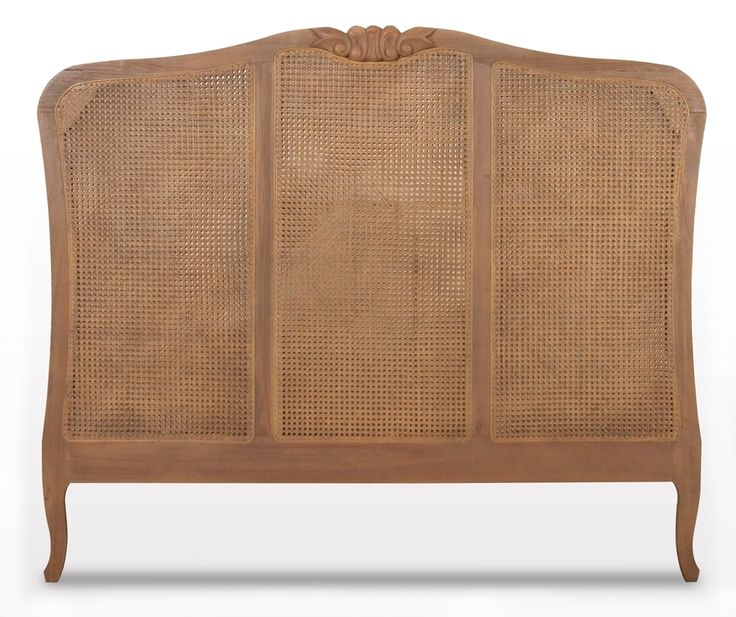 Or this... rattan bedhead <3 Interiors Online