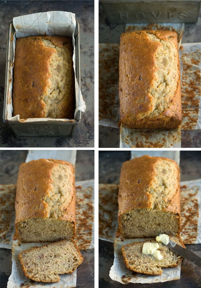 Easy banana bread with walnuts#Repin By:Pinterest++ for iPad#