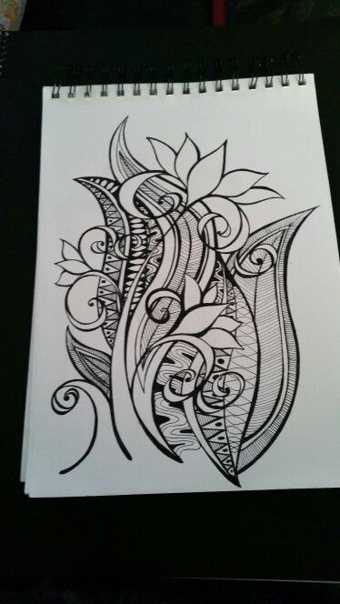 My fav Zentangle. JOANNA OSBORNE