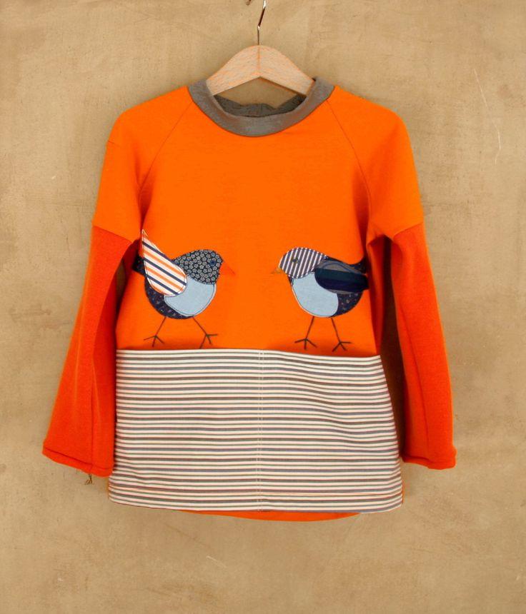 T-shirt per bambini con applique realizzate a mano : Moda bambino di pabuita
