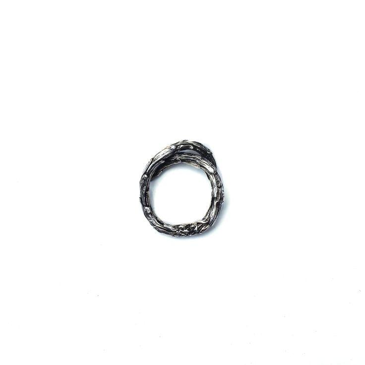 Silver Roseus Ring