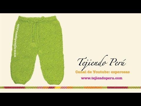 Pantalón para bebé - Tejiendo Perú
