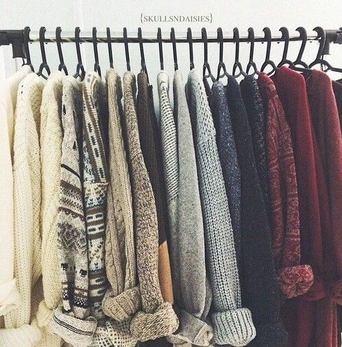 Can't wait for cosy jumper season