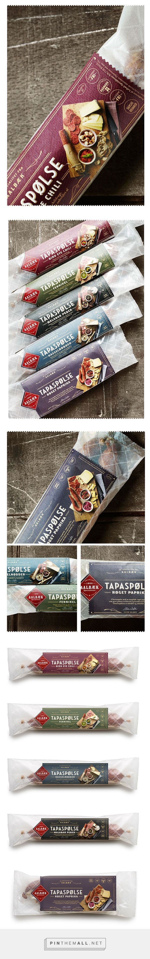 Tapas Aalbæk specialiteter #packaging #design: