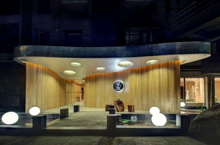 ♥ One Taste Holistic Health Club Interior Design