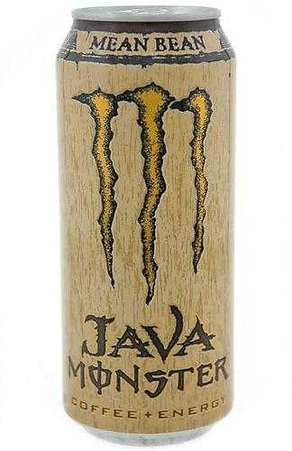 mean bean monster energy drink coffee