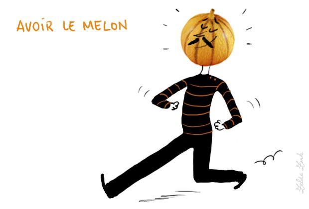 Avoir le melon : être gonflé d'orgueil, de prétention, avoir la grosse tête | Photo: Zelda Zonk @ TV5MONDE. http://www.tv5.org/TV5Site/publication/galerie-327-15-Avoir_le_melon_etre_gonfle_d_orgueil_de_pretention_avoir_la_grosse_tete.htm