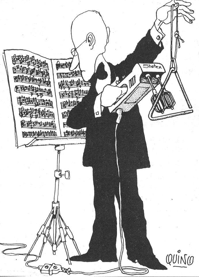 Смешная картинка о музыкальных инструментах, поздравление днем