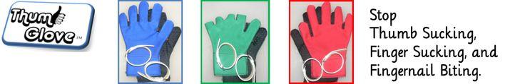 The best, custom gloves for thumb/finger suckers or biters! Super reasonable & nothing else like them online! #thumb #sucker #gloves