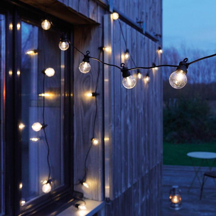 Guirlande Guinguette avec transformateur - Pour un air de fête au jardin ou en terrasse - 44,95 €