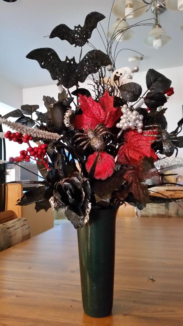 75 best my forever flower arrangments images on pinterest flower halloween for my sons grave izmirmasajfo