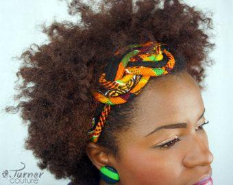 Kente hoofdband - Kente doek Afrikaanse hoofdband - hoofdband van de weefsel Africain - Kente hoofdband - Afrikaanse hoofdband