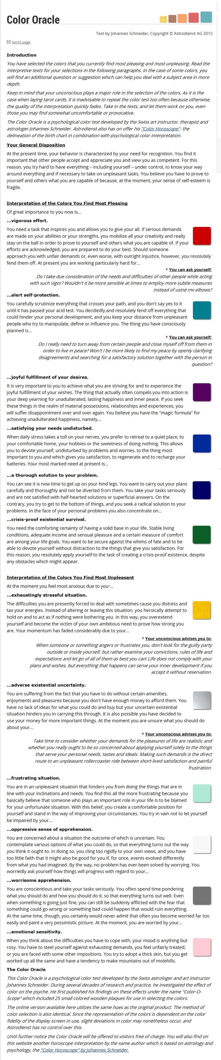 28 best colors meanings moods symbolism images on pinterest color oracle test wow thats all im going to say nvjuhfo Gallery